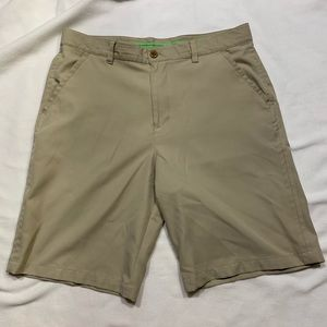 Izod Golf Shorts Khaki